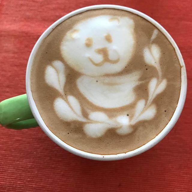 今朝キタ! My best shot ever! #cappuccino #latteart